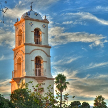 Ojai Post Office Tower